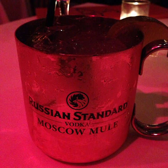 Moscow Mule - Nic's Beverly Hills, Beverly Hills, CA