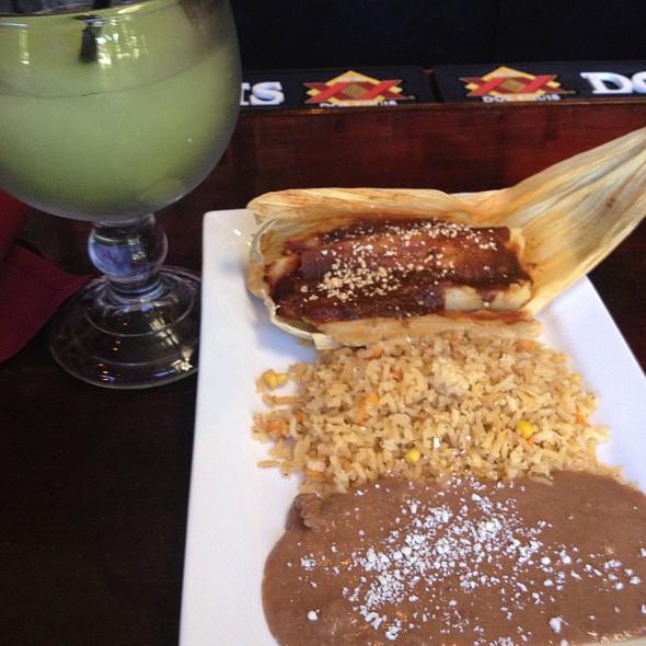 Pork Tamales! - Santa Fe Mexican Grill & Bar - Wilmington, Wilmington, DE
