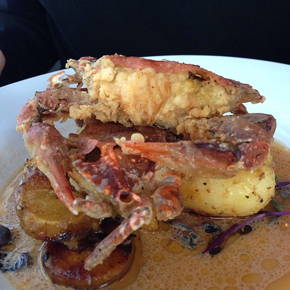 Softshell Crab - Table Asheville, Asheville, NC