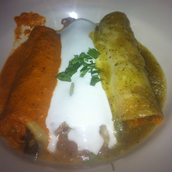 Mexican Flag Enchiladas - Gonza Tacos y Tequila - North Raleigh, Raleigh, NC