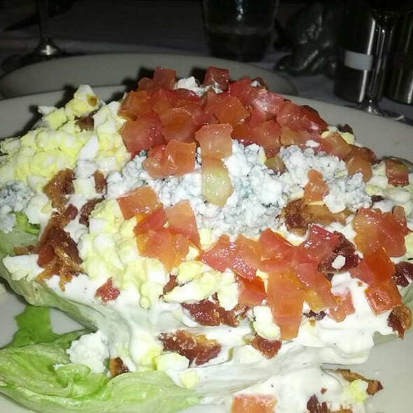 Wedge Salad w/ Blue Cheese - Morton's The Steakhouse - Midtown Manhattan, New York, NY