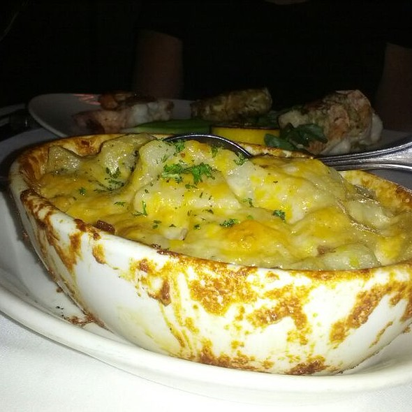 Twice Baked Potatoes - Morton's The Steakhouse - Midtown Manhattan, New York, NY