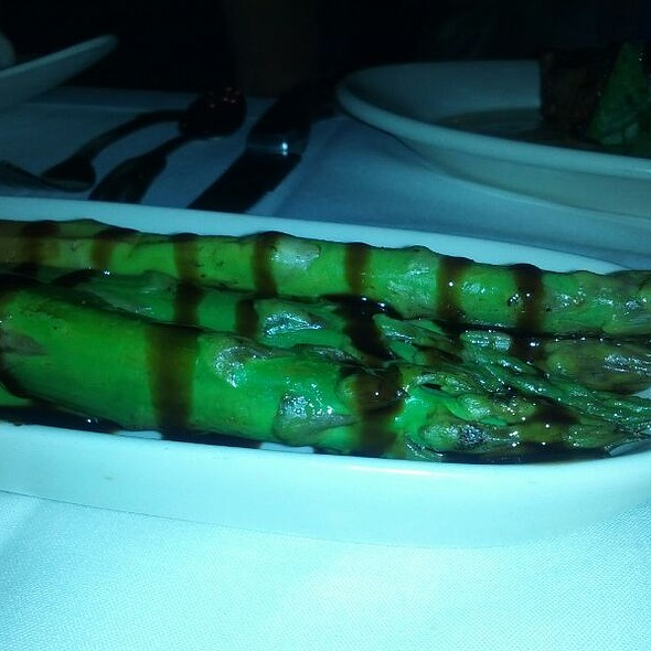 Grilled Asparagus - Morton's The Steakhouse - Midtown Manhattan, New York, NY