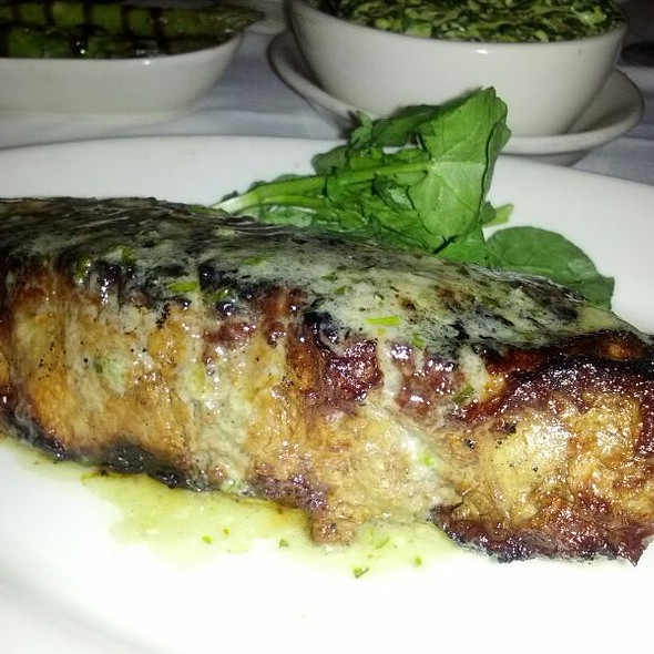 Ny Strip With Blue Cheese Compound Butter - Morton's The Steakhouse - Midtown Manhattan, New York, NY