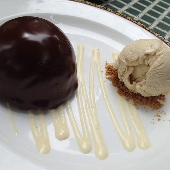 Peanut Butter Chocolate Bomb - Old Angler's Inn, Potomac, MD