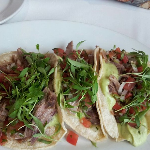 Duck Tacos - Chez Loma, Coronado, CA