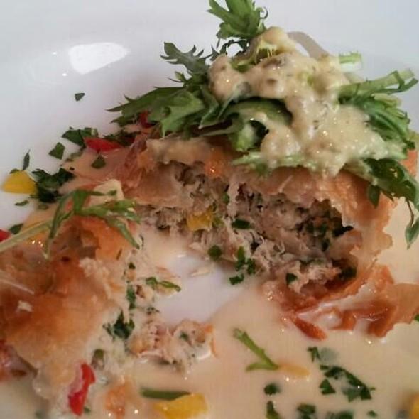 Crab Cake In Phyllo  - Chez Loma, Coronado, CA