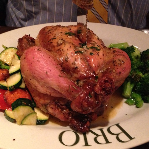 Whole Roasted Chicken - BRIO Tuscan Grille - Lombard - The Shops on Butterfield, Lombard, IL
