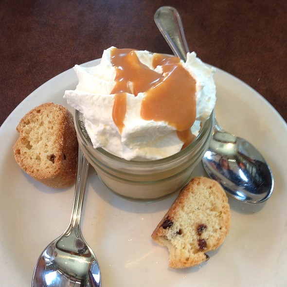 Butterscotch pudding - Capurro's, San Francisco, CA