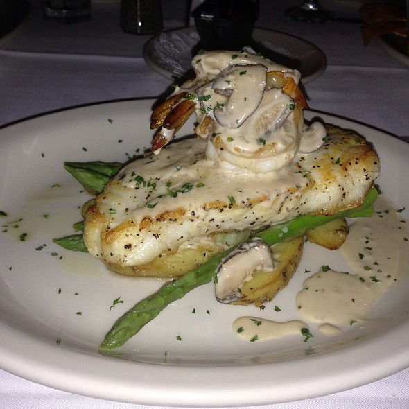 Sea bass - Bob's Steak & Chop House - San Antonio, San Antonio, TX