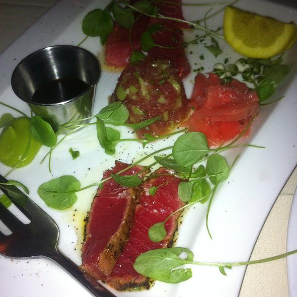 Tuna Trio, Sashimi, Tartare, Crudo - LuNello Restaurant, Cedar Grove, NJ
