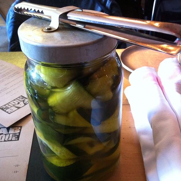 Homemade Pickles - La Fabrique, Montréal, QC