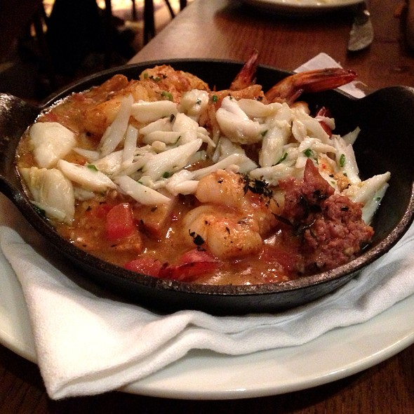 "Jumbo Louisiana Shrimp ""En Cocotte"" - Luke, New Orleans, LA"