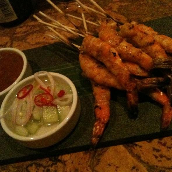 Shrimp Satay - Maenam, Vancouver, BC