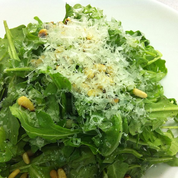 Arugula Salad With Pinenuts - Zebra's Bistro and Wine Bar, Medfield, MA