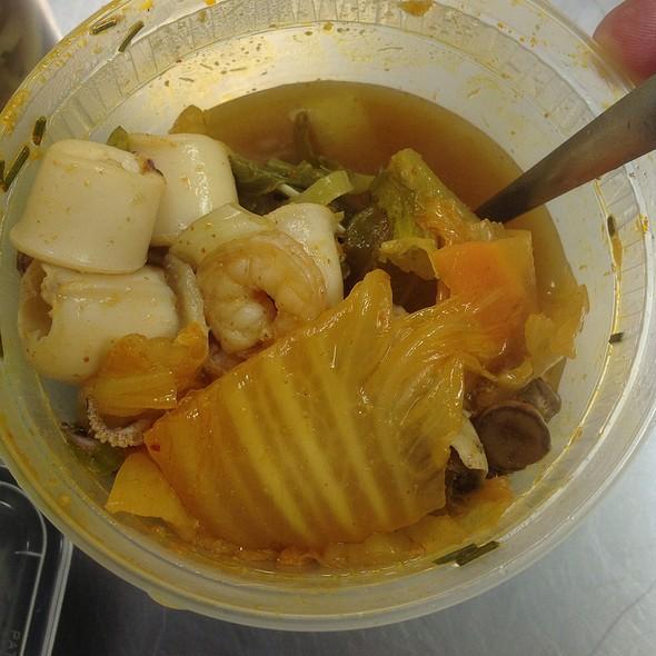 Spicy Seafood Kimchi Soup - Sushi Lounge - Totowa, Totowa, NJ