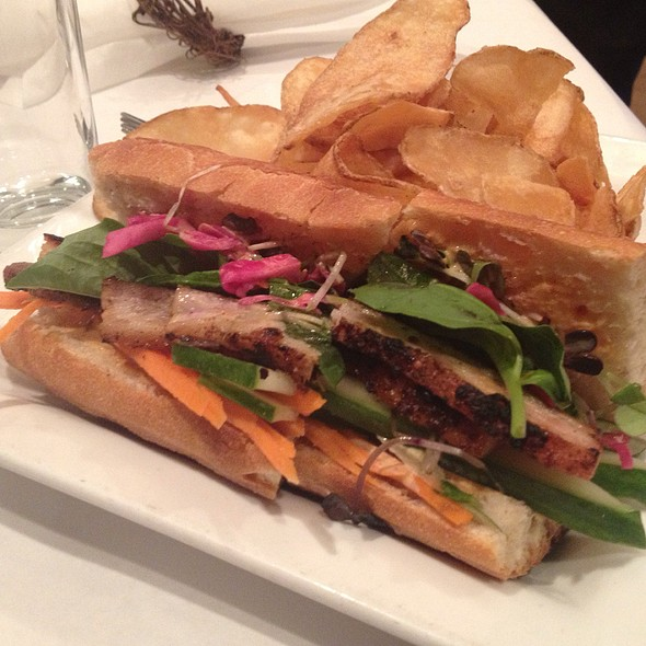 Baimi Hoagie With Cured Pork Belly - Label 7, Pittsford, NY
