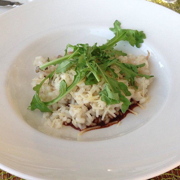 Honshimeji Risotto - Nanea Restaurant and Bar, Princeville, HI