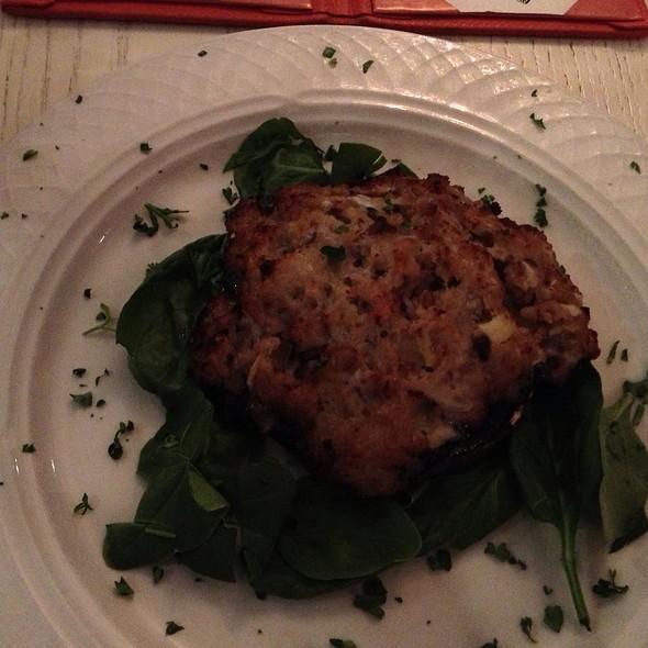 Stuffed Mushrooms - J Morgan's Steakhouse, Montpelier, VT