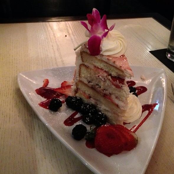Strawberry Chiffon Cake - J Morgan's Steakhouse, Montpelier, VT