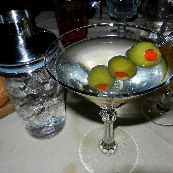 Dirty Chopin Martini - House of Prime Rib, San Francisco, CA