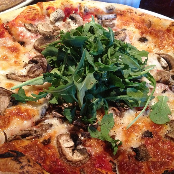 Mushroom Pizza - SOMA Restaurant & Bar, San Francisco, CA