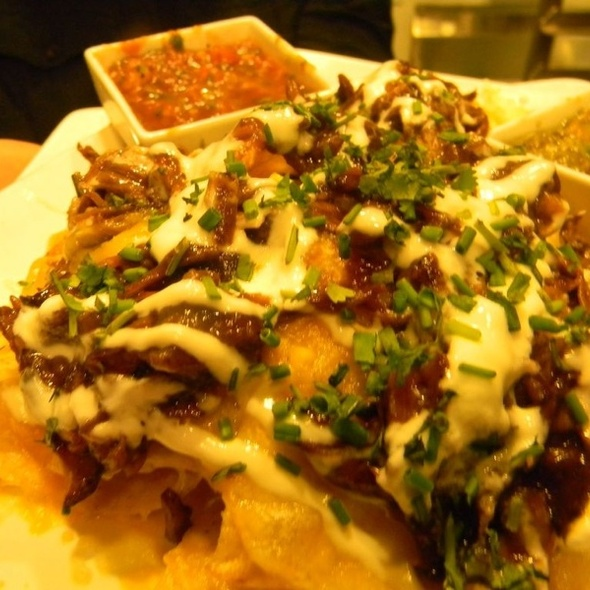Holy $#%! BBQ Shortrib Nachos - WiseGuys Steak & Lounge, Hilton Head Island, SC
