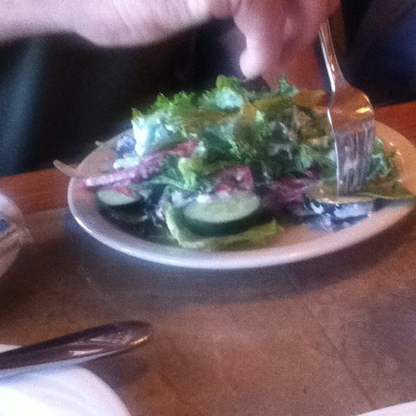 House Salad With Blue Cheese Dressing - High Finance  Restaurant - At the top of the Tram, Albuquerque, NM