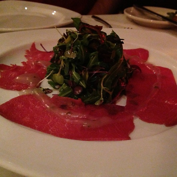 Antelope Carpaccio - Clydz, New Brunswick, NJ