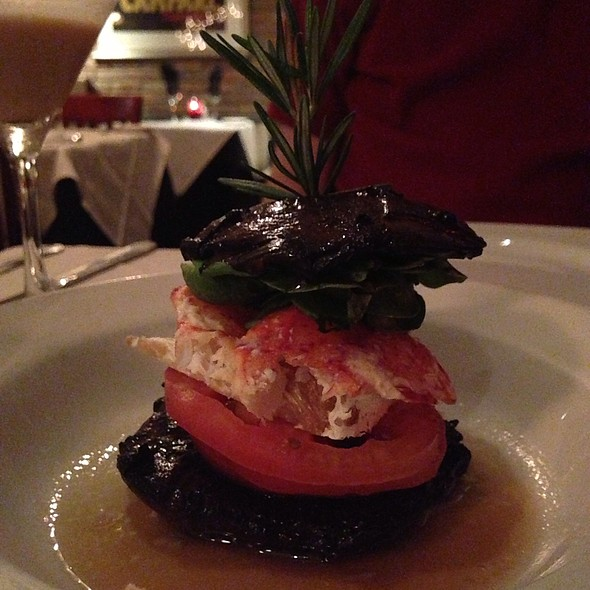 Portabella Lobster Heirloom Tomato Stack - Clydz, New Brunswick, NJ
