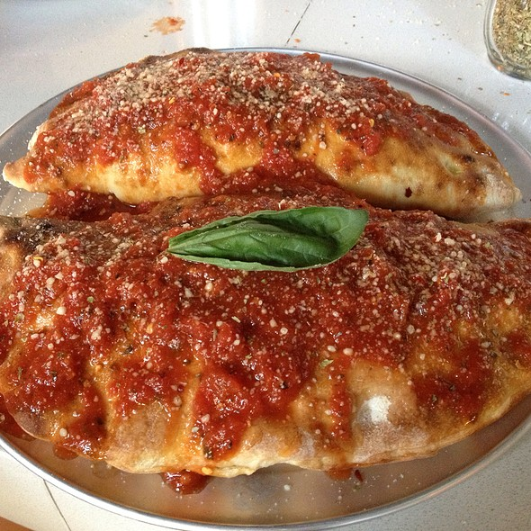 Homemade Calzone - AOA Bar & Grill, New York, NY