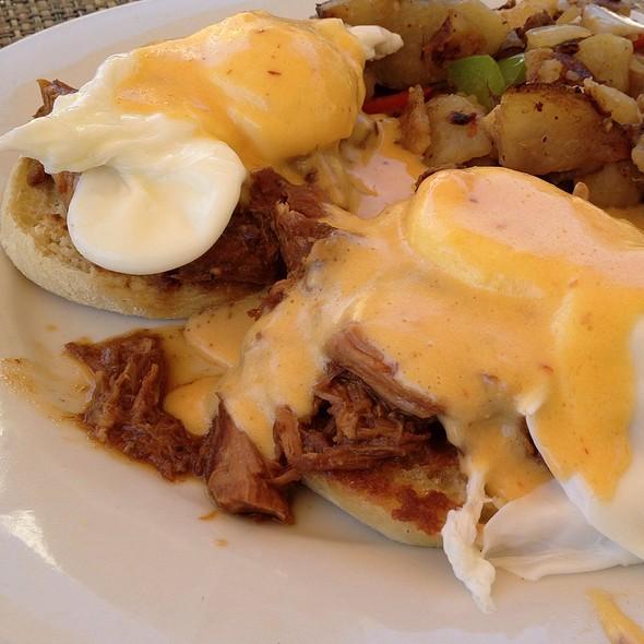 Pulled Pork Eggs Benedict - Marston's, Santa Clarita, CA