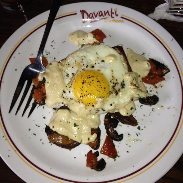 Eggs Con Polenta - Davanti Enoteca - Western Springs, Western Springs, IL