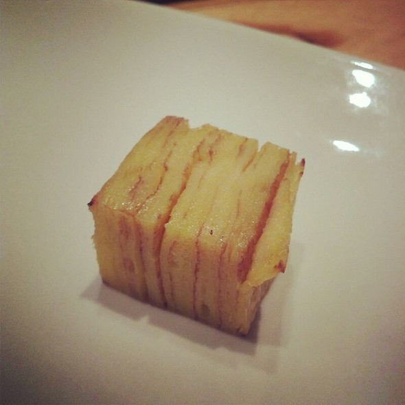 Warm Cube of Layered Crepe  - Ooka Japanese Sushi & Hibachi Steakhouse, Montgomeryville, PA