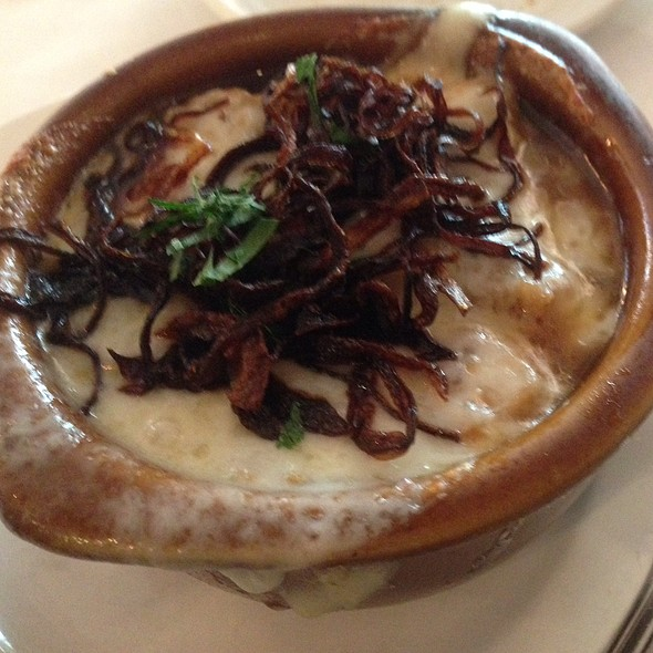 French Onion Soup - Convito Cafe and Market, Wilmette, IL
