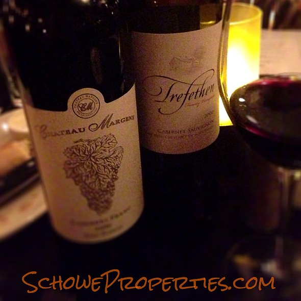 Trefethen And Chateau Margene - Sullivan's Steakhouse - Palm Desert, Palm Desert, CA