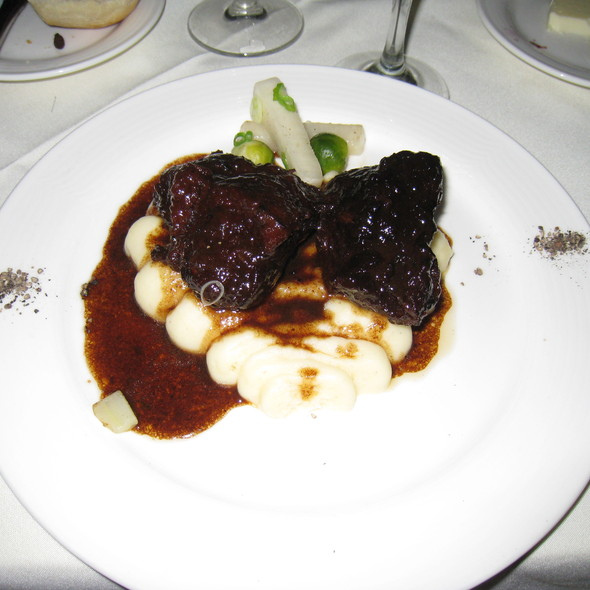 Braised Short Ribs - Cafe Panache, Ramsey, NJ