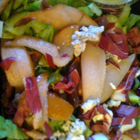 Roasted Pear & Date Salad - Antico Posto, Oak Brook, IL