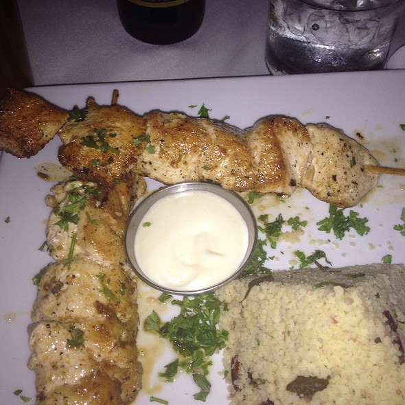Chicken Kebab With Couscous - Sawa, Coral Gables, FL