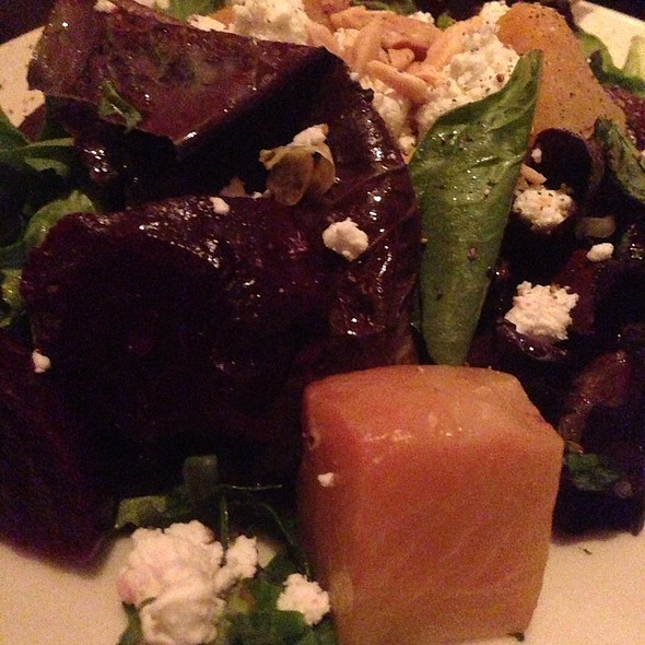 Beets And Goat Cheese Salad - Wildfire - Tysons Galleria, McLean, VA