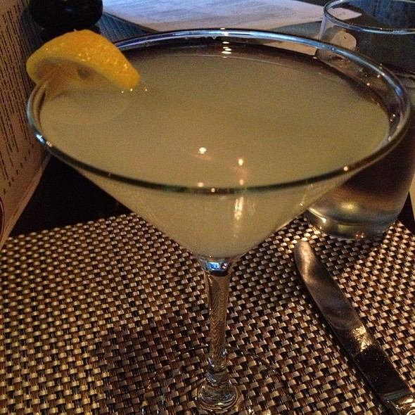 Sparking Hendricks Martini - Brandywine Prime, Chadds Ford, PA