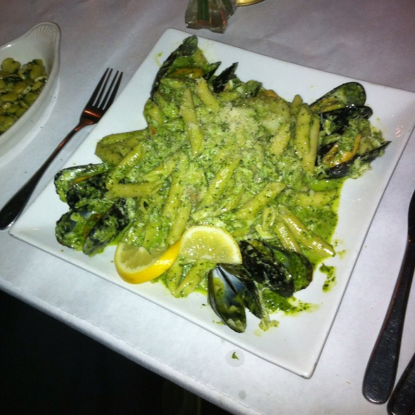 Seafood Pesto - The Parson's Table, Little River, SC