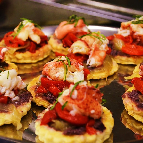 Lobster Pastries - Bistro St. Tropez, Philadelphia, PA