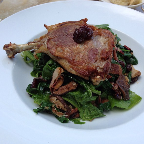 Warm Duck And Spinach Salad - Grant's Restaurant and Bar, West Hartford, CT
