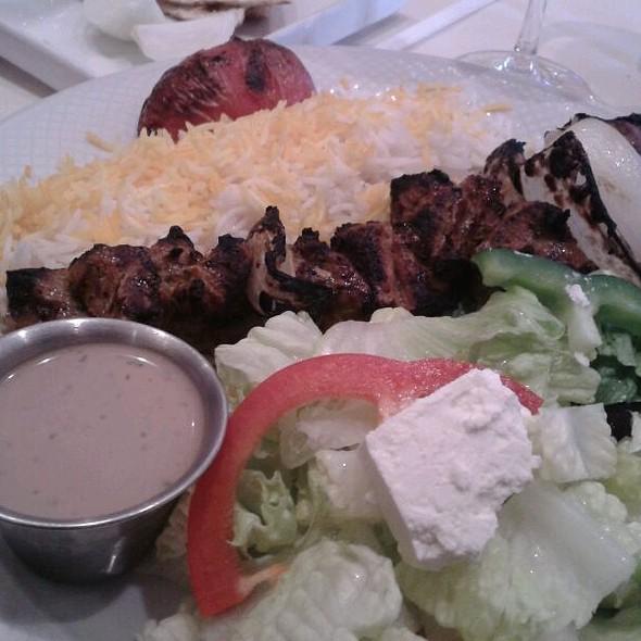 Lamb Kabobs - Yekta Kabobi Restaurant, Rockville, MD
