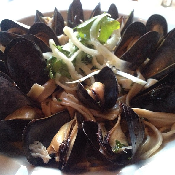 Housemade Fettucine With Steamed Mussels - Cook & Brown Public House, Providence, RI
