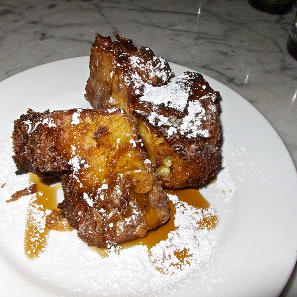 Crispy Bread Pudding - Gracie's, Portland, OR
