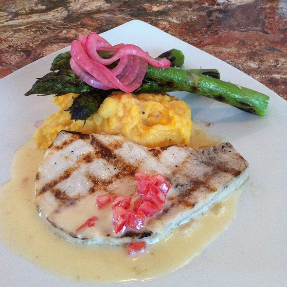 Swordfish With Beurre Blanc, Aspargus, And Potatoes - Stephan Pyles, Dallas, TX