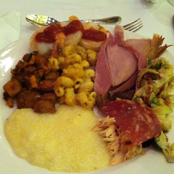Brunch Buffet Plate - TJ's at The Jefferson Hotel, Richmond, VA