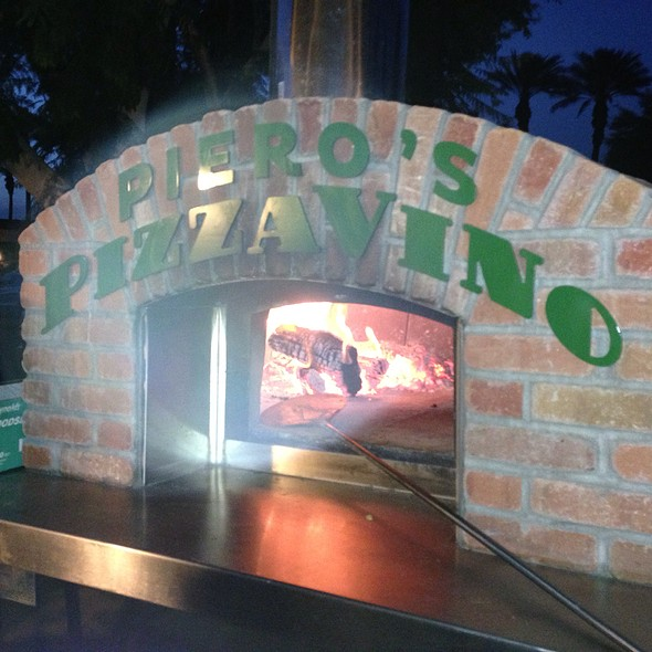 Mobile Pizza Oven - Piero's Pizzavino, Palm Desert, CA